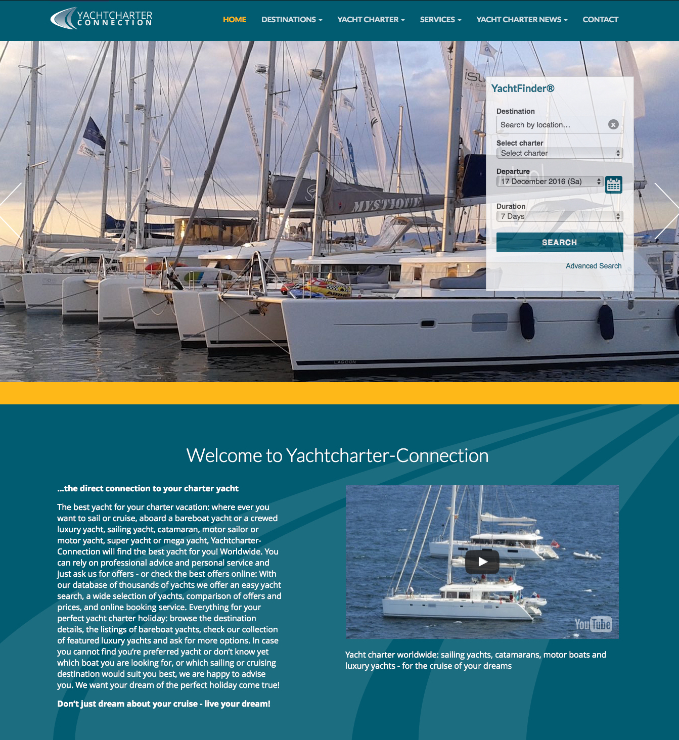Yachtcharter-Connection - yacht charter - yachtcharter